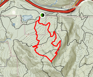 West Tiger Mountain Area Trails Map