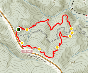 Hobbs Wall Trail Map