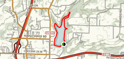 Lake Alma Trail Map