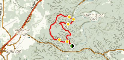 Wilderness Trail Long Loop Map