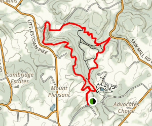 Union Mills Trail [CLOSED] Map