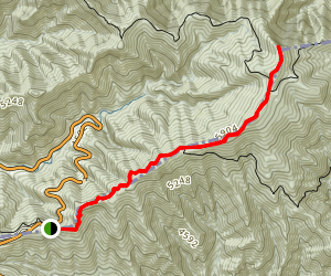 Jump Off Trail via Appalachain Trail Map