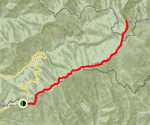 Jump Off Trail via Appalachian Trail Map