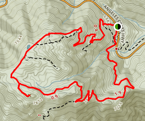 Waterman Mountain Loop Trail Map