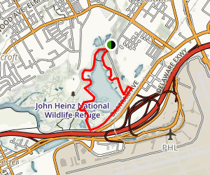 John Heinz National Wildlife Refuge Map