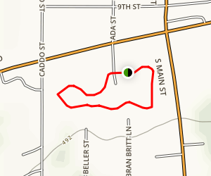 Muldrow City Park Loop Map