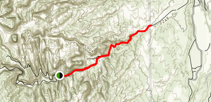 Capitol Gorge Trail Map