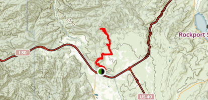 Glenwild to Flying Dog Trail Map