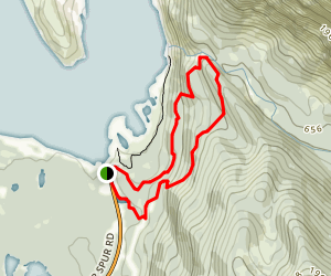 East Glacier Loop Trail Map