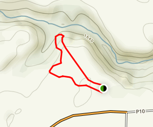 Canyon Point Loop Map