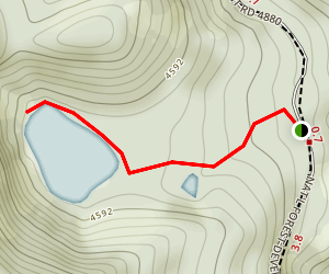 Boulder Lake Trail Map
