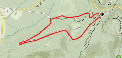 Pioneer Woman's Grave Loop Trail Map