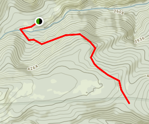Jordan Cutoff Trail Map