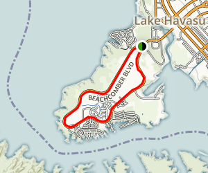 Beachcomber Blvd Loop Map