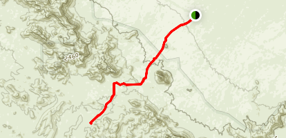 Ben Avery Trail Map