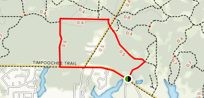 Grayton Beach North Loop Map