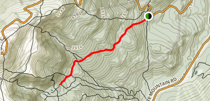Raymond Path Trail Map