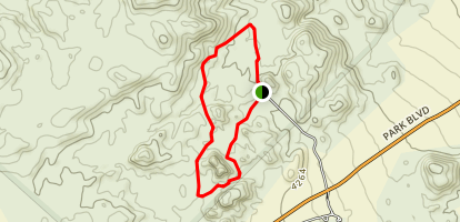 Split Rock Loop Trail Map