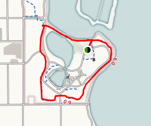 Menominee Park Zoo Trail Map