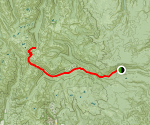 South Fork Imnaha River Trail Map