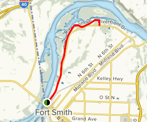 Rice Cardin Levee Trail Map