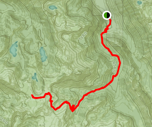 Minam Lake Trail to Copper Trail Map