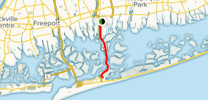 Jones Beach Map Jones Beach Bikeway   New York | AllTrails