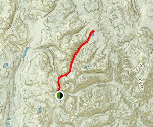 Duck Lake to Loon Lake Trail Map