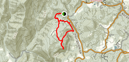Bottom Creek Gorge Trail Map