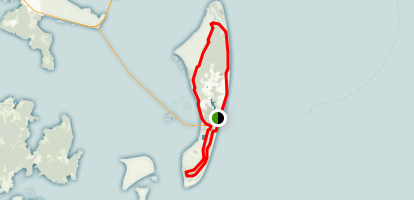 Jekyll Island Bike Trail Map