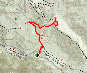 Scotts Cabin Trail Map