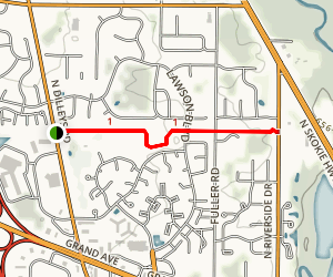 Betty Russell Park Trail Map