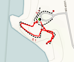 Face Rock Viewpoint Trail Map