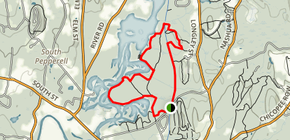 Nashua River Trail Map