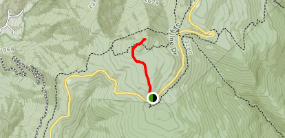 Upper Hawksbill Trail Map