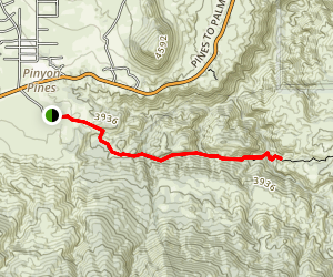 Horsethief Creek Map