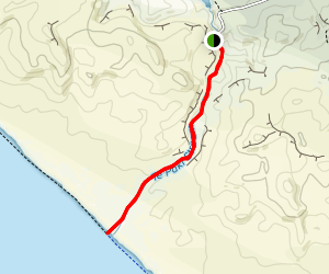 Te Paki Stream Trail Map