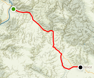 Clutha Gold Trail Map
