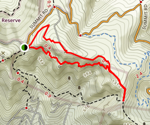 Mount Pleasant Loop Track Map