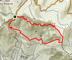 Cavendish Bluffs Loop Track Map