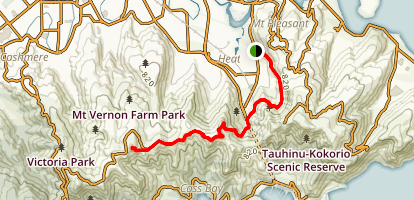 Morgan's Track to Mount Vernon Map