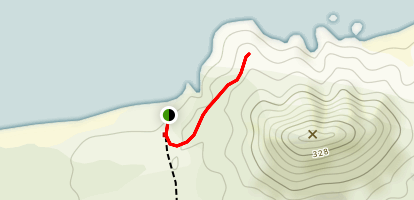 Puheke Hill Hike Map