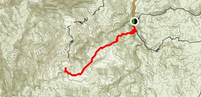 West Fork Trail Map