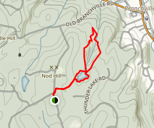 Weir Pond and Swamp Loop Trail Map