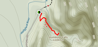 Humbolt Falls Lookout Trail Map