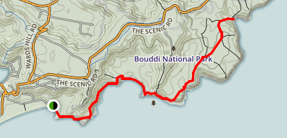 Bouddi Coast Walk Map