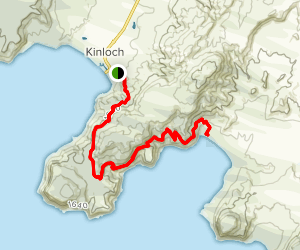 Kinloch to Whakaipo Bay  Map