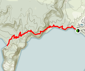 Whakaipo Bay to Kinloch Trail - (W2K) Map