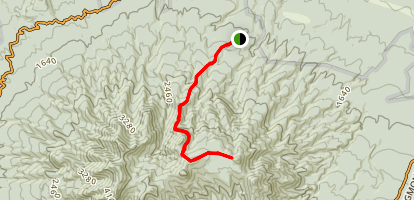 Mangorei Track to Maude Peak Map