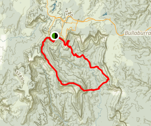Mount Solitary Loop Map